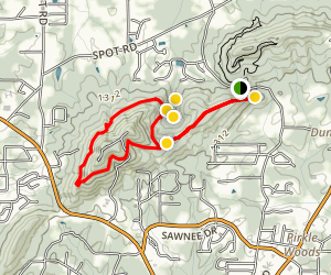 Mountainside Loop Trail  Map