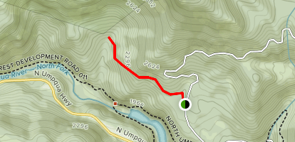 Soda Springs Trail Map