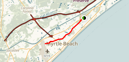 Grissom Parkway Trail Map