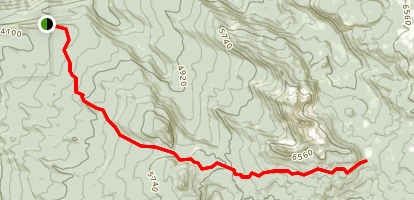 Foley Ridge Trail Map
