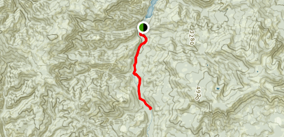 Middle Fork Willamette Trail: Sand Prairie to Butcherknife Creek Map