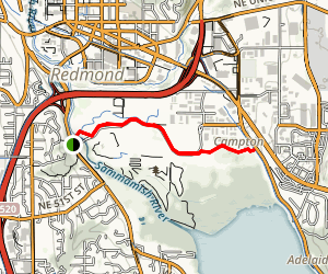Marymoor Connector Trail Map