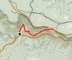 Military Sinkhole Trail Map