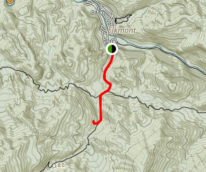 Jakes Creek Trail to Avent Cabin Map