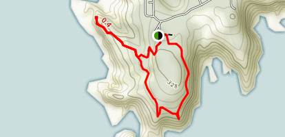 Port Orford Heads Trail Map