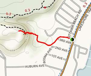 Mount Pisgah Dune Boardwalk Map