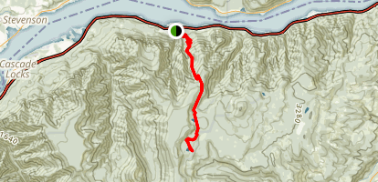 Wyeth Trail to Rainy Lake (CLOSED) Map