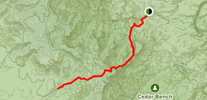 Chasm Creek Trail Map