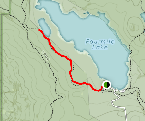 Squaw Lake Trail Map