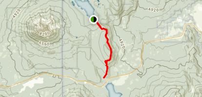 Rye Spur Trail Map