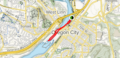 Willamette Falls Kayak - Oregon | AllTrails on western pacific map, netflix map, cricket map,