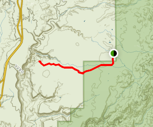 Perry Tank Canyon Map