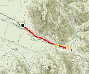 Alamo Canyon Map