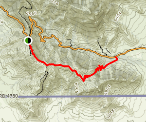 Joes Canyon Trail Map