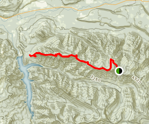O'Leary Mountain Trail Map