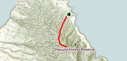 Laie Summit Trail Map