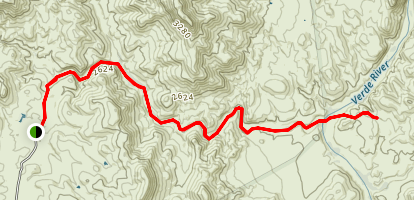 Red Creek Trail Map