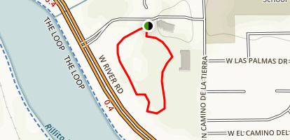 Pima Prickly Park Trail Map