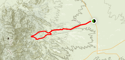 Gardner Canyon Road Map