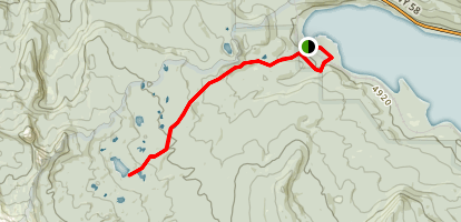 Yoran Lake Trail Map