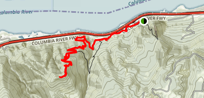 Wygant Trail (CLOSED) Map