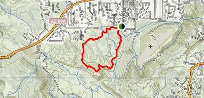 Carroll Canyon Trail Map