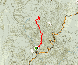 Mount Francis Trail Forty Eight Map