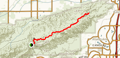 National Trail Map