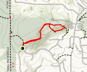 Brandis Natural Area Loop Map