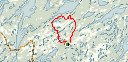 Arkon Lake Loop Trail Map
