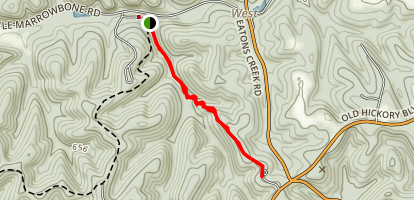 Sedge Hill Trail Map