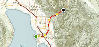 Provo River Parkway Map