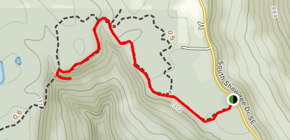Alum Hollow Trail Map