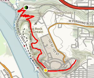 Emerald Park Trail Map
