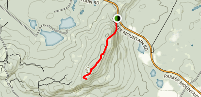 Parker Mountain Trail Map