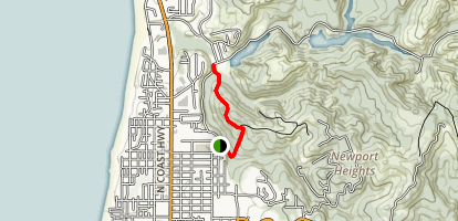 Frank Wade Park Trail Map