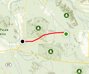 Butterfield Stage Route Map