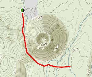 SP Crater Map