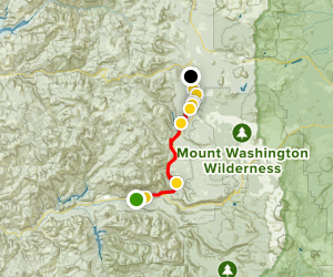 McKenzie River National Recreational Trail Map