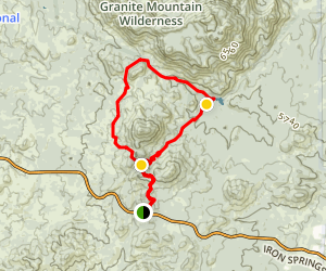 Little Granite Mountain Loop Trail Map