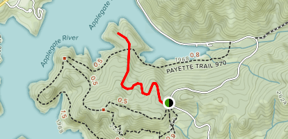 Calsh Trail Map