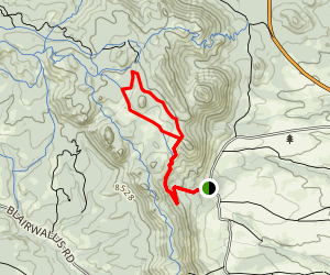 Headquarters National Recreation Trail Map