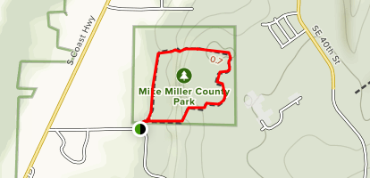 Mike Miller Educational Trail Map