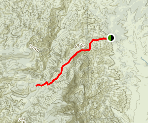 North Peak Trail Map