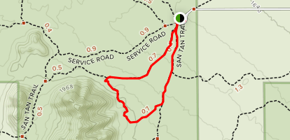 Stargazer Trail Map