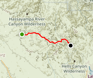 Buckhorn Creek Trail Drive Map