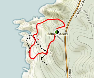 Indian Sands Trail Map