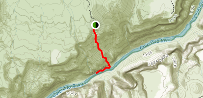 Lava Falls Trail Map