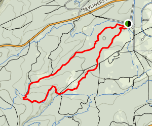 Phil's Trail: Short Loop Map