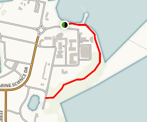 Hatfield Marine Science Center Estuary Trail Map
